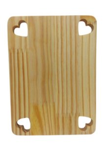 Tábua Decorativa Frios de pinus - Lindinha