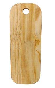 Tábua para servir em madeira pinus para mesa posta