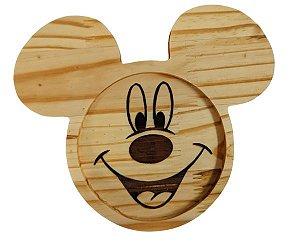 Prato Infantil Ecológico Madeira Linha Kids - Mickey