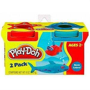 Play Doh com 2 Cores Neon