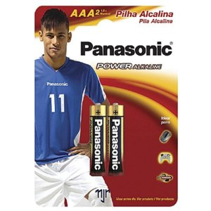 Cartela Pilha Panasonic Alkaline AAA