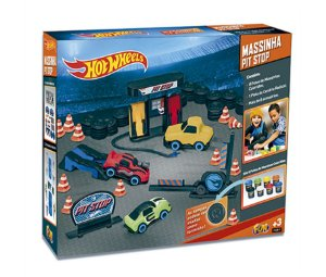 Hot Wheels Massinha Pit Stop