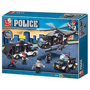 Blocos Polícia - Força Tática 499 pcs