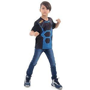 Camiseta Nerf Azul