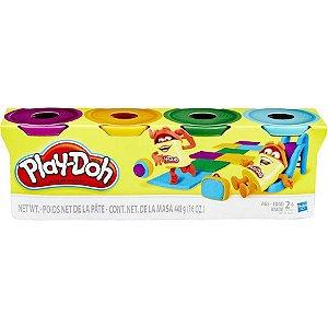 Play-Doh 4 Potes de Massinha