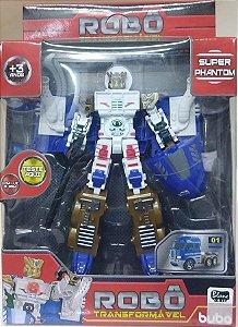 Robô Transformável - Super Phantom Truck