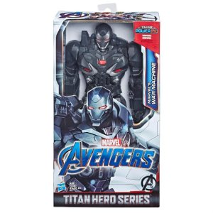 Vingadores Ultimato - War Machine Titan Hero