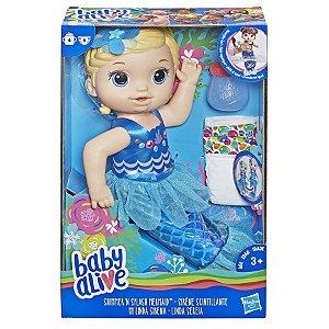 Baby Alive Linda Sereia Loira
