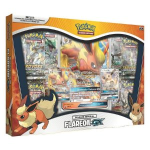 Pokémon Box - Evoluções do Eevee GX