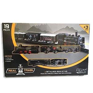 Real Train - 19 Peças
