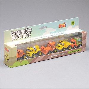 Coleção Caminhões Divertidos - Zoop Toys