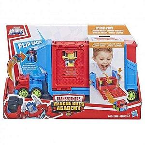 Transformers Rescue Bots Lançador Optimus Prime