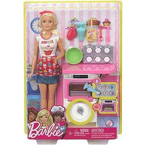 Boneca Barbie - Chef de Bolinhos