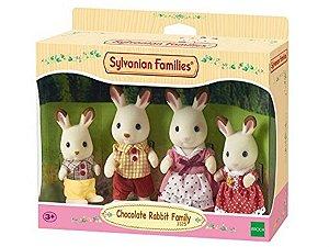 Família dos Coelhos Chocolate