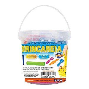 Kit Areia de Brincar - Balde com 300g