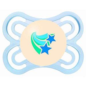 Chupeta Noite Perfeita 0 a 6 meses - Azul