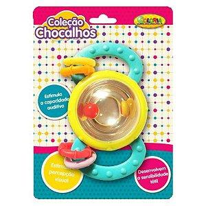 Coleção Chocalhos - Cilindro de Bolinhas