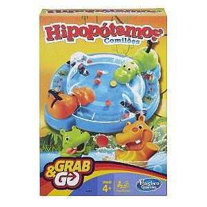 Jogo Hipopótamos Comilões Grab&GO