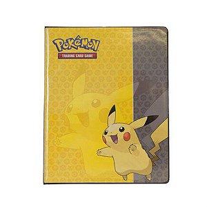 Pokémon - Portfólio/Fichário Pikachu para Cartas 10 páginas