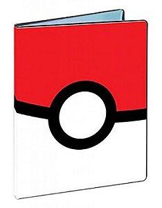 Pokémon - Portfólio/Fichário Pokeball para Cartas 10 páginas