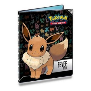 Pokémon - Portfólio/Fichário Eevee para Cartas 10 páginas