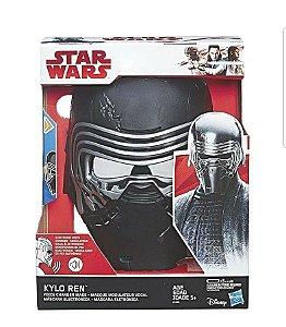Star Wars - Máscara Kylo Ren com Modulador de Voz