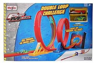 Auto Pista Fresh Metal - Double Loop Challenge