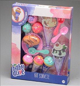Baby Alive - Kit Sorvete