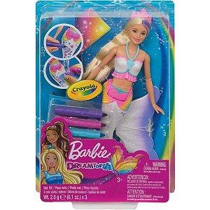 Barbie Dreamtopia - Sereia Colorida