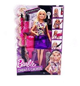 Barbie Fashion - Ondas e Cachos