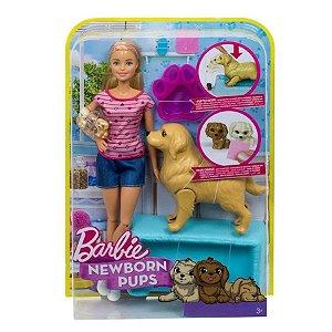 Barbie Filhotinhos Recém-Nascidos