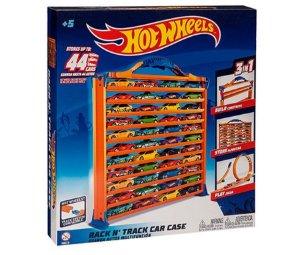 Hot Wheels - Porta Carrinhos e Pista