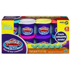 Play Doh Plus com 8 potes