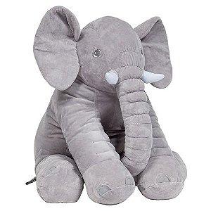Travesseiro Elefante Plush Cinza