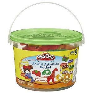 Play Doh Mini Balde com acessórios sortidos
