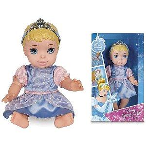 Boneca Princesa Baby Cinderela Luxo.