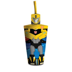 Copo Toyart  600ML Transformers