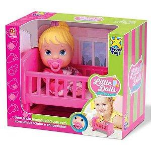 Boneca Little Dolls Bercinho