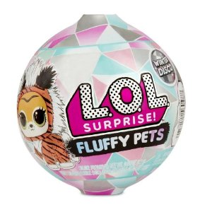 Boneca Lol Fluffy Pets 7 Surpresas