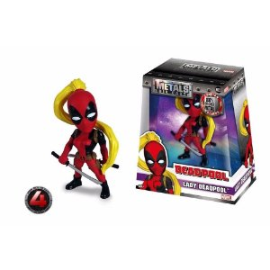 Boneco Marvel GIirls Metal Lady Deadpool