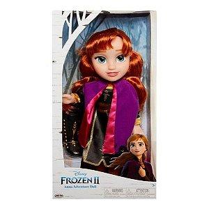 Boneca Anna Vestido Luxo Frozen