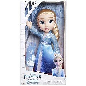 Boneca Elsa Vestido Luxo Frozen