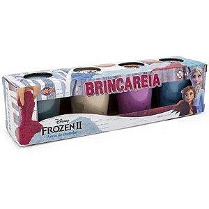 Areia de modelar Brincareia Frozen com 4 Potes