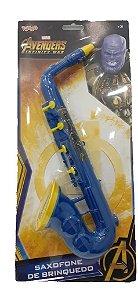 Saxofone de brinquedo Vingadores