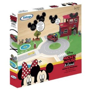 Quebra Cabeça Corpo de Bombeiros Mickey