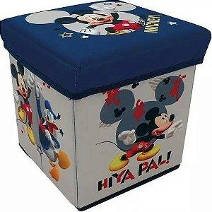 Banquinho Porta Objetos Mickey