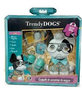 Trendy Dog Conjunto de acessórios viagem