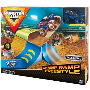 Monster Jam Playset Pista e Carro