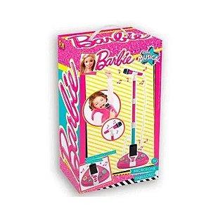 Microfone Barbie Fabuloso c/ MP3