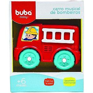Carro de Bombeiro Musical Baby